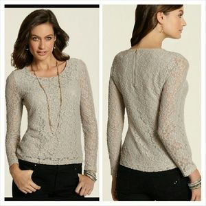 Chico's Tops - Chicos Lace Top