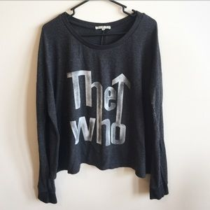 Junk Food Clothing Sweaters - Junk Food The Who Sweater