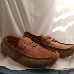Trask Other - Trask Mens Brown Leather Slip On Shoes Size 11M