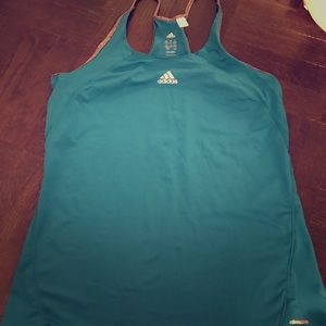 Adidas Tops - Adidas Climalite Tank Blue - Sz. Medium