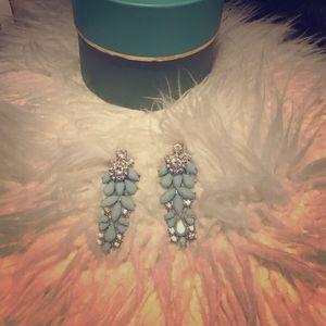 H&M Mint Blue Drop Earrings