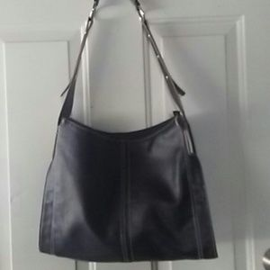 Leather Crown Handbags - Leather bag