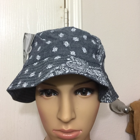 59b69dd322f Kids bandana print bucket hat
