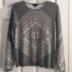 J. Crew Sweaters - NWOT J Crew Handkerchief Print Sweater