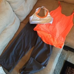 Lululemon running outfit