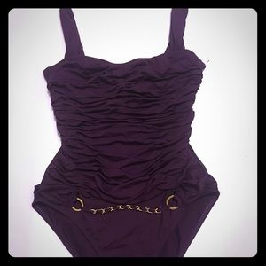 Moncler Gamme Bleu Other - Dark purple one piece bathing suit