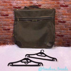 Oscar de la Renta Handbags - Pebbled leather Oscar De la renta garment bag