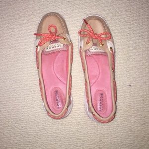 Size 8 Sperry Topsider boat shoes