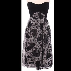 Diane von Furstenberg Dresses & Skirts - Diane Von Furstenberg Strapless Chain Link Dress 2