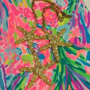 Lilly Pulitzer Jewelry - YOCHI NY Designer Starfish Necklace