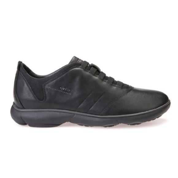 6cd955e620f1e Geox Shoes | Like New Mens Nebula Black Sneaker 10 | Poshmark