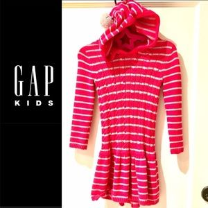 BABYGAP Hoodie Sweater Dress