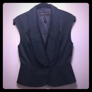 BCBGMAXAZRIA Black Vest