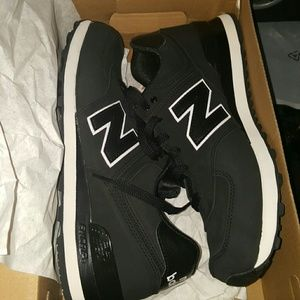 mens new balance 574 high roller athletic shoe