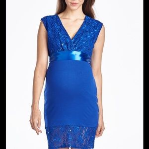 Hello MIZ Dresses & Skirts - Hello Miz Maternity Lace Dress