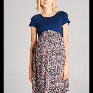 Hello MIZ Dresses & Skirts - Hello Miz Maternity Print Dress