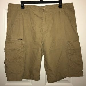 Tilly's Other - Subculture Men's Khaki Ripstop Cargo Shorts