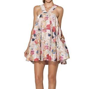 Cynthia Rowley Dresses & Skirts - Cynthia Rowley Watercolor Spot Print Dress