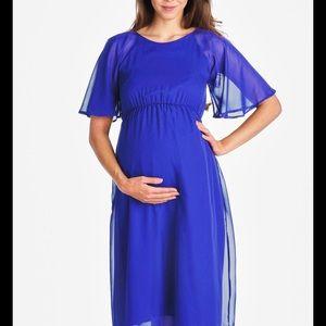 Hello MIZ Dresses & Skirts - Hello Miz Maternity Dress with Tie Up Back