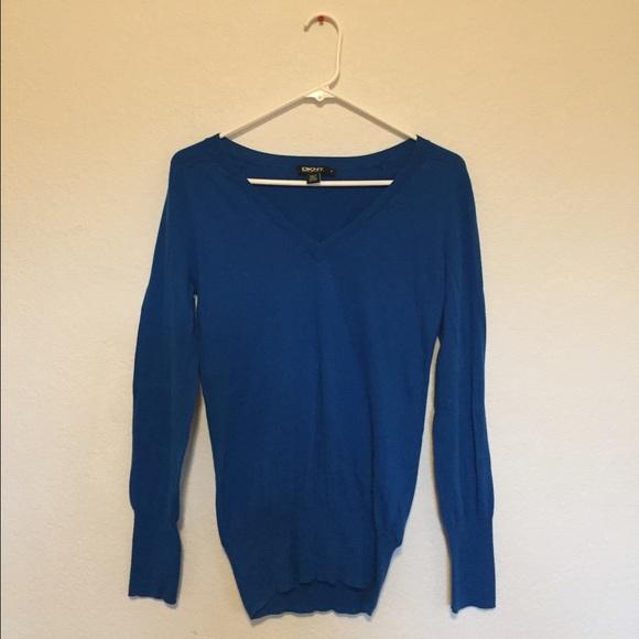 DKNY - DKNY Royal blue oversized sweater from C's closet on Poshmark