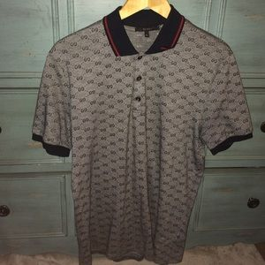 Gucci Other - Men's GG polo shirt