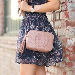 1a38dbfc8847 Gucci Bags | Soho Disco Bag In Blush Pink Nude Patent | Poshmark