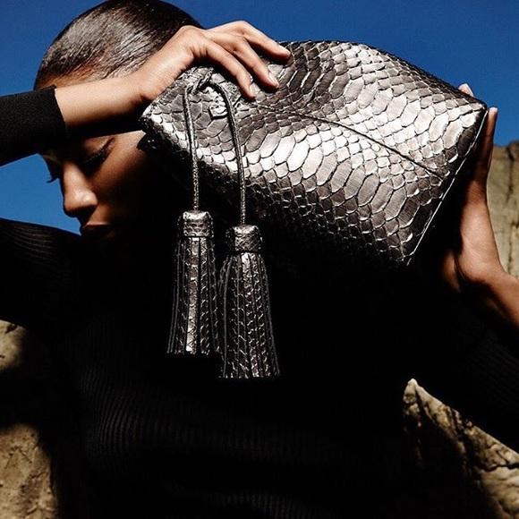 Tom Ford Bags   Python Double Tassel Bucket Bag   Poshmark a195b992261c