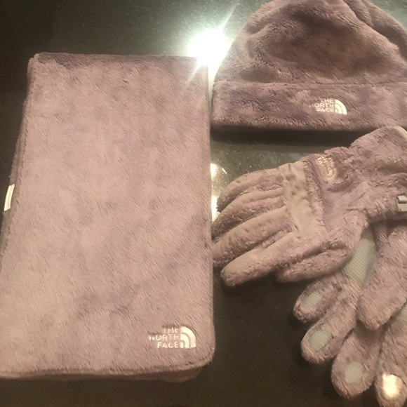 c83d77b73 *discounted*The Northface hat, glove and scarf set NWT