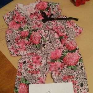 Baby Nay Other - Two piece floral set