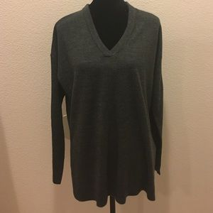 Sweet Romeo Sweaters - Sweet Romeo gray sweater top