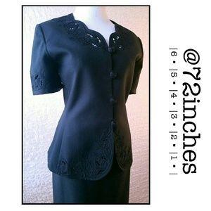 Le Suit Dresses & Skirts - Le Suit Plus Size 2 pc. Short Sleeve Skirted Suit