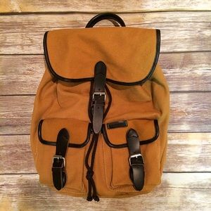 Ossington Handbags - Ossington Mercer tan canvas and leather backpack