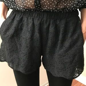 Madewell Pants - Madewell Lace Shorts
