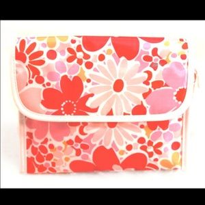 Clinique Handbags - CLINIQUE Flower Power Large Accessory Bag