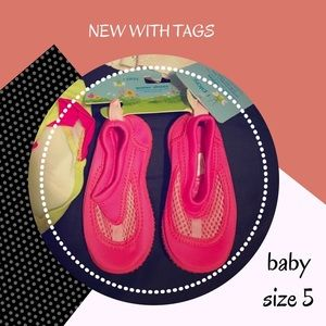 I Play Other - •NWT Hot Pink Water Shoes