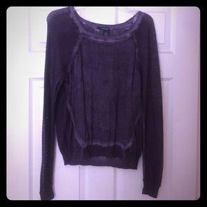 DKNY Sweaters - DKNY mesh sleeved sweater