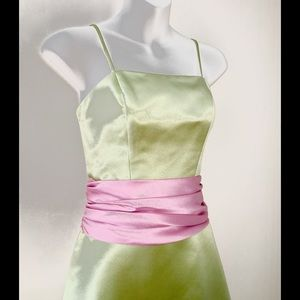 Bill Levkoff Dresses & Skirts - BILL LEVKOFF GREEN DRESS FORMAL/PROM/WEDDING
