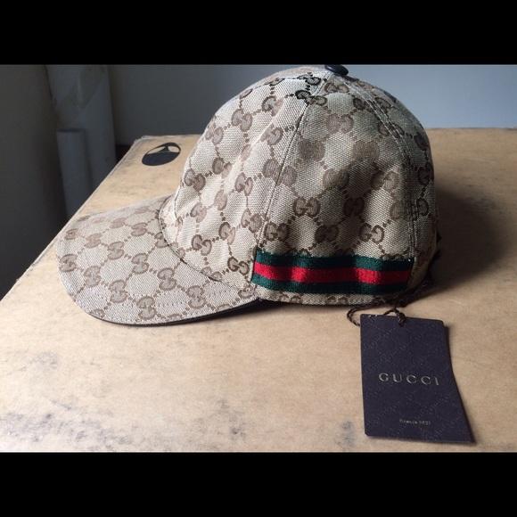 732ba570f37eb Original GG (GUCCI) canvas baseball hat with Web. Listing Price   230.00
