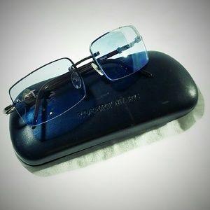 Robert Marc Other - Robert Marc Blue Rimless Sunglasses-NEW