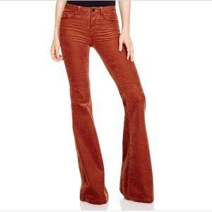 NWT $248 J Brand Bella brown corduroy pants