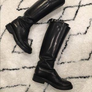 Ann Demeulemeester Shoes - Ann Demeulemeester Tall Riding Boots