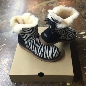UGG exotic zebra boots