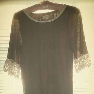 Umgee brand brown lace top