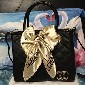 Handbags - Chanel retro scarf hand bag
