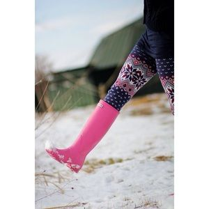 Hunter Original Tall Matte Pink Rain Boots