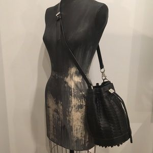 NEW Alexander Wang bucket bag with silver studs