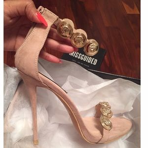 9ae339012e2 Missguided Shoes - ❤SOLD❤ Missguided Peace + Love Nude Heels