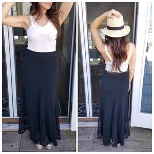 CupofTea Dresses & Skirts - 🎉SALE🎉Black high waisted boho skirt