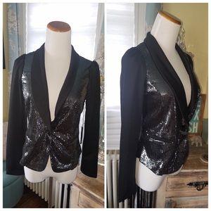 CupofTea Jackets & Blazers - 🔺CLEARANCE🔺Black sequin blazer