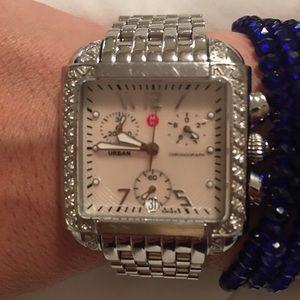 Michele Accessories - Michele watch with diamonds